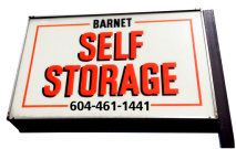 Barnet Self Storage Sign
